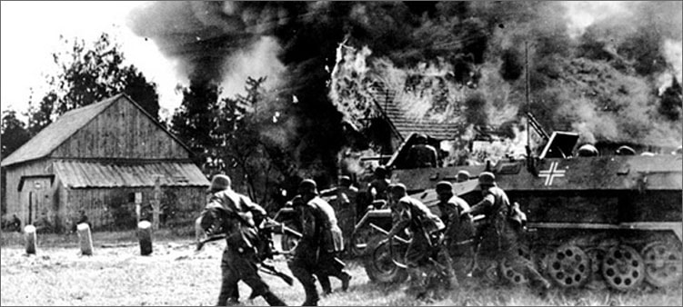 немцы-взорвали-дом