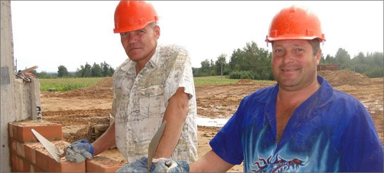 каменщики-строят
