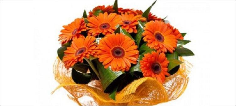 оранжевый-букет