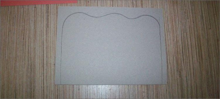 рисуем-фигуру-на-картоне