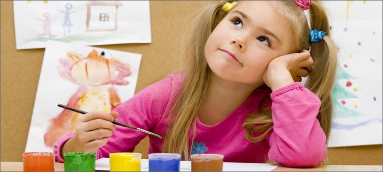 девочка-рисует