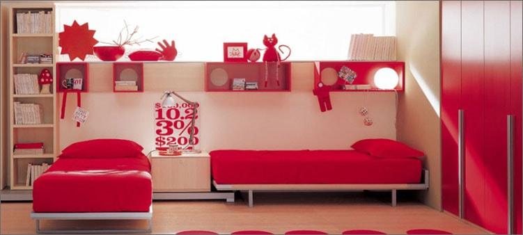 комната-в-красных-тонах