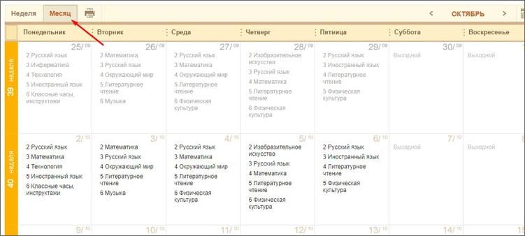 расписание-на-месяц-в-электронном-дневнике
