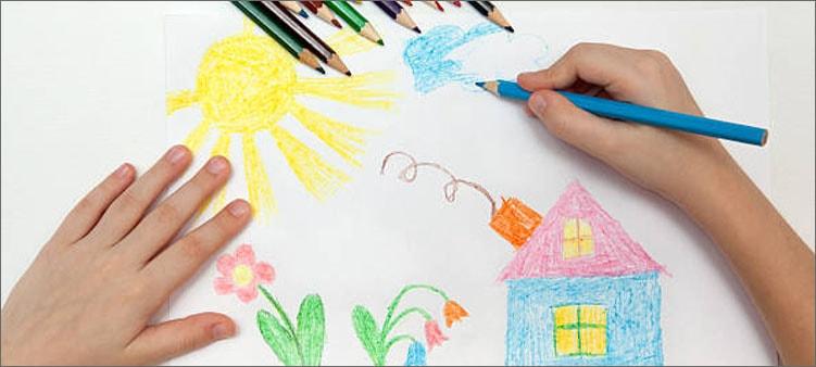 ребенок-рисует