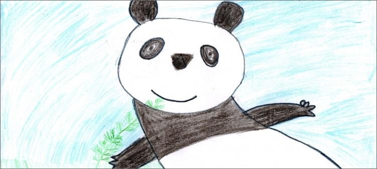 рисунок-панда