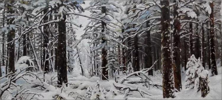 зима-шишкина