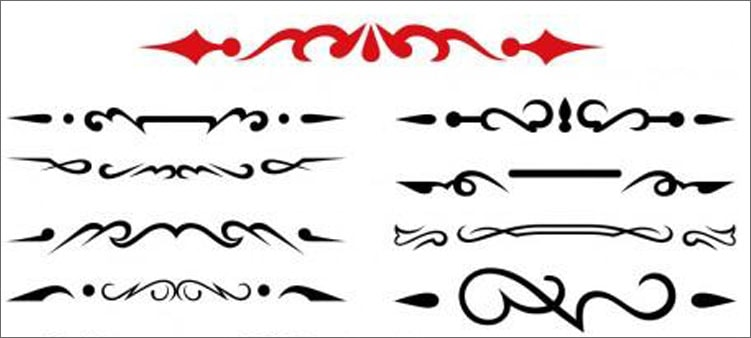 каллиграфические-вензельки