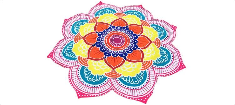 мандала-с-цветами
