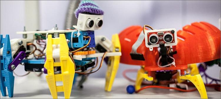 роботы-насекомые