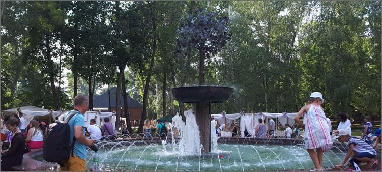 фонтан-в-парке