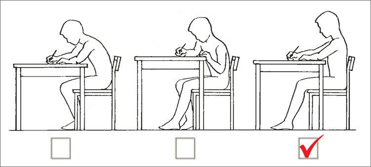 правильное-положение-за-столом