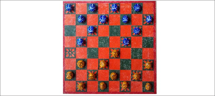 самодельные-шашки-из-каштанов