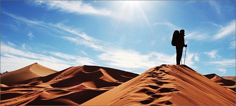 путник-в-пустыне