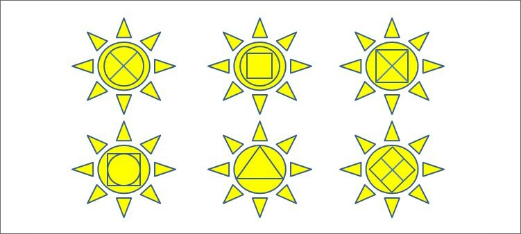 геометрические-звезды
