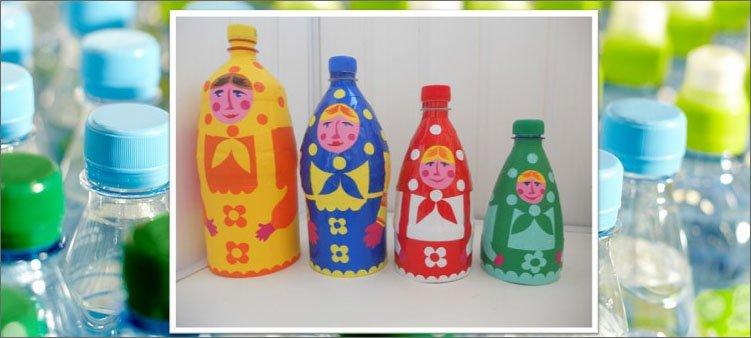 матрешки-из-пластиковых-бутылок