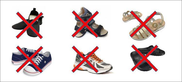 обувь-не-предназначенная-для-школы