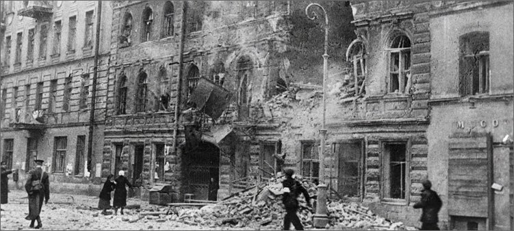 ленинград-во-время-войны