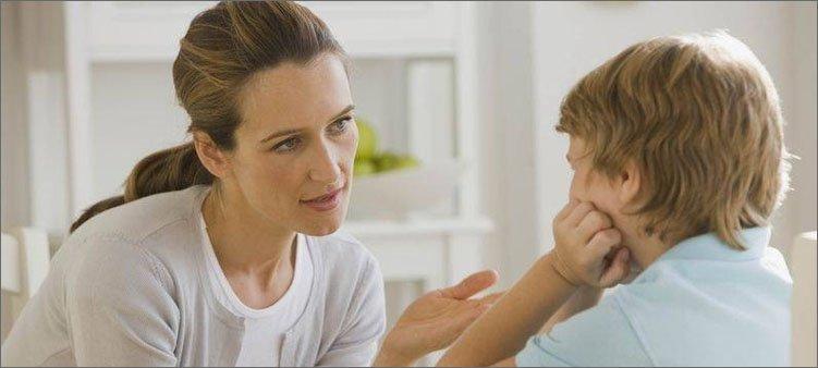мама-и-сын-разговаривают