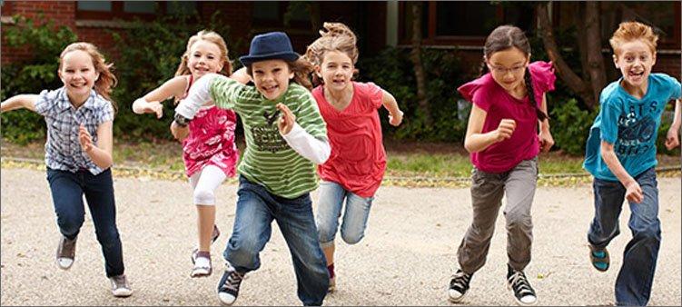 дети-быстро-бегут
