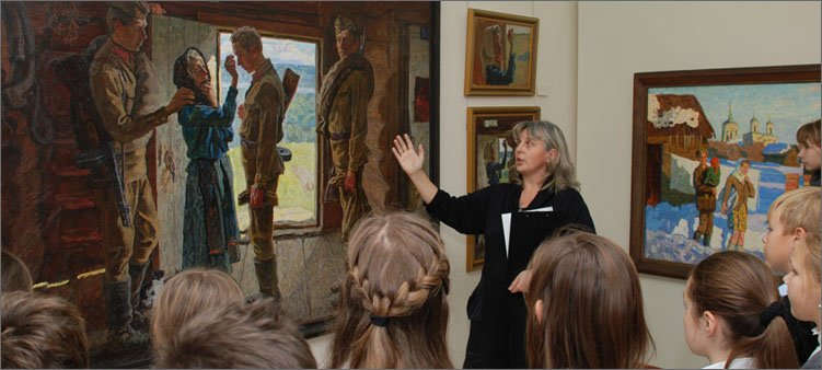 школьники-на-экскурсии-в-музее