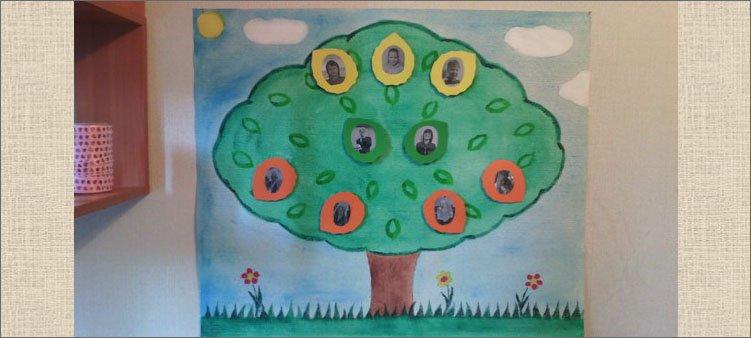 семейное-дерево-готовая-поделка