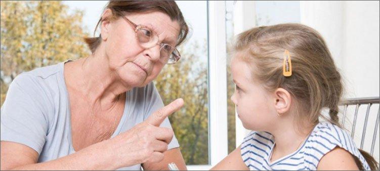 бабушка-воспитывает-внучку