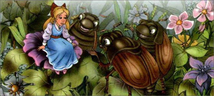 дюймовочка-с-майскими-жуками