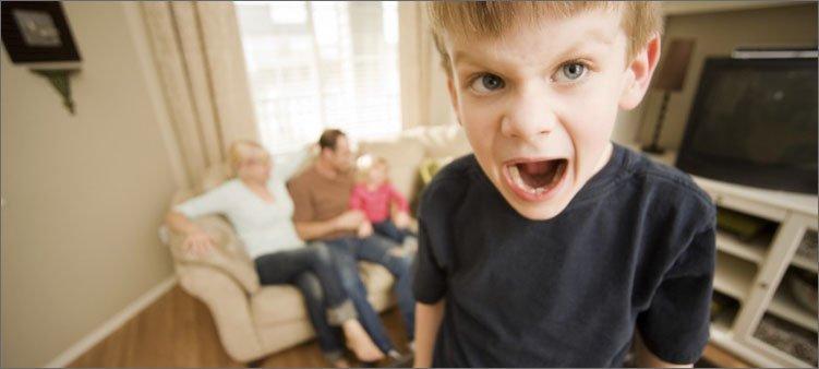 мальчик-кричит