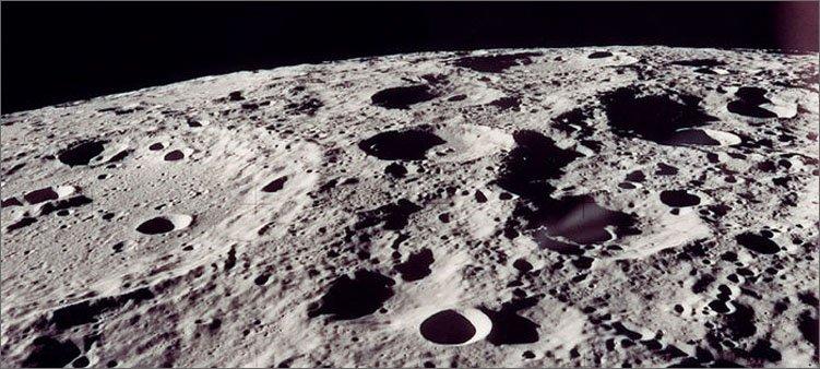 поверхность-луны