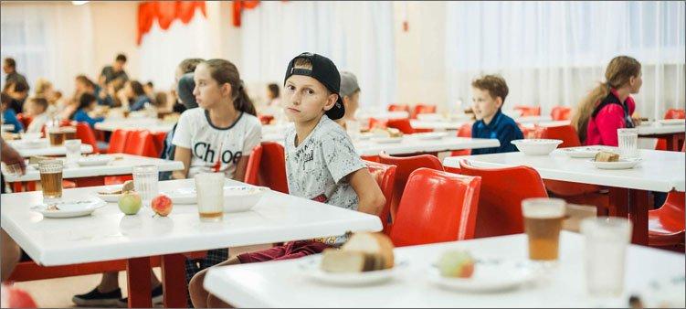 дети-в-столовой