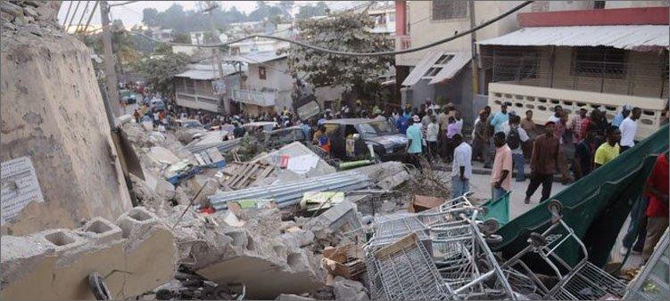 землетрясение-на-гаити