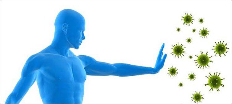 синий-мужчина-иммунитет-останавливает-вирусы