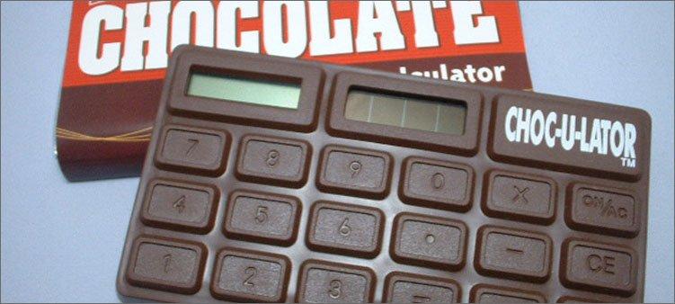 калькулятор-в-виде-шоколадки