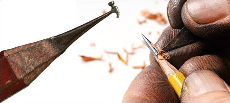 процесс-работы-по-карандашному-грифилю