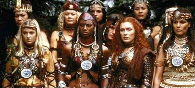 женщины-амазонки