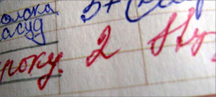 двойка-в-дневнике