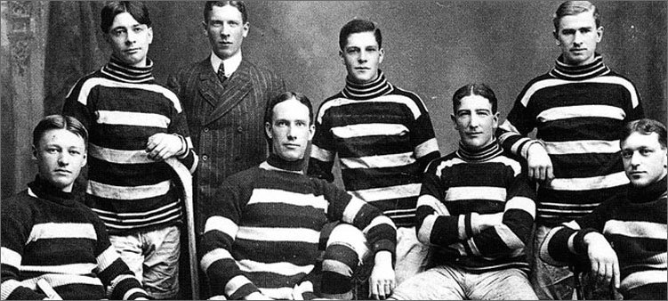 игроки-первой-хоккейной-команды-канады