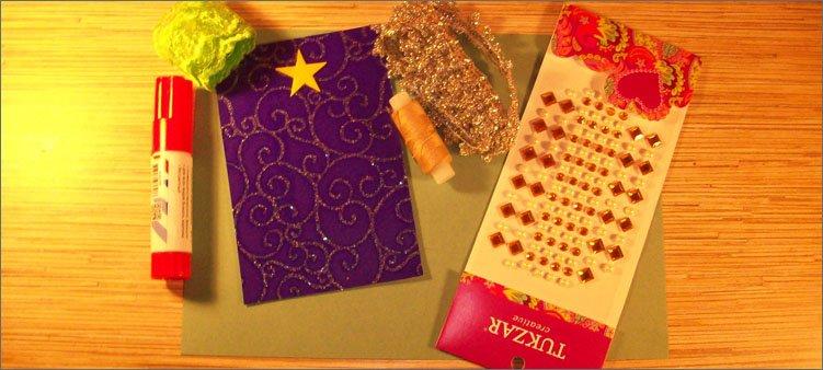 материалы-для-открытки-с-елкой