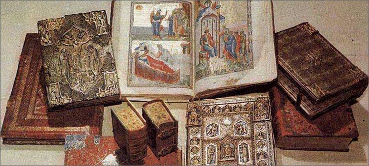 много-старинных-книг