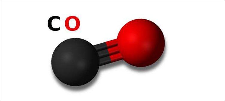 молекула-оксида-углерода