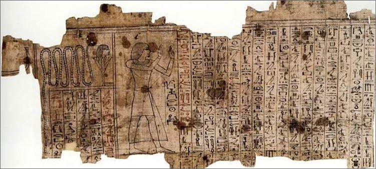древнеегипетский-папирус