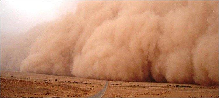 пыльная-буря