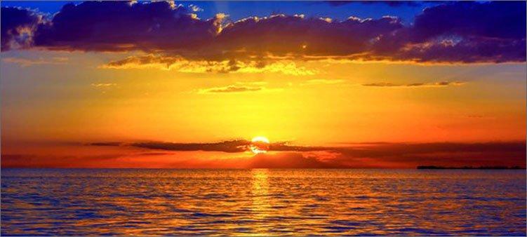 закат-у-моря