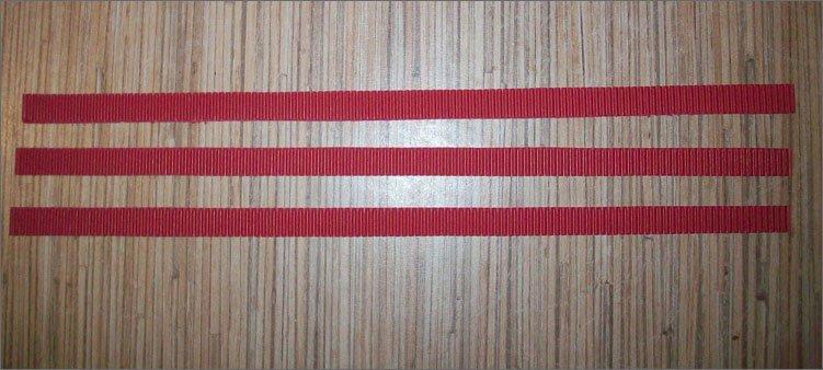 три-полосы-из-красного-картона