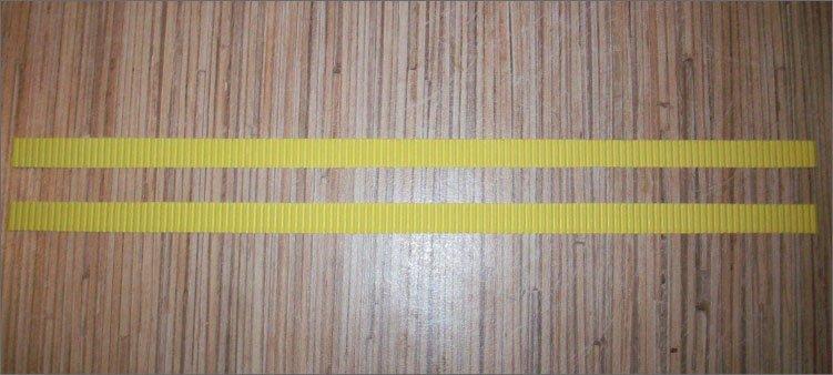две-полоски-из-желтого-картона