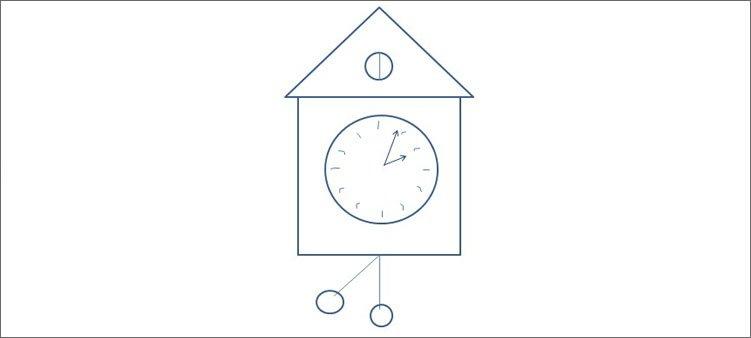 нарисованные-часы