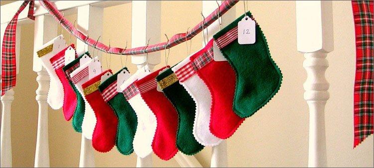 рождественские-чулочки