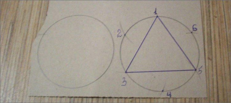 равносторонний-треугольник-вписан-в-окружность