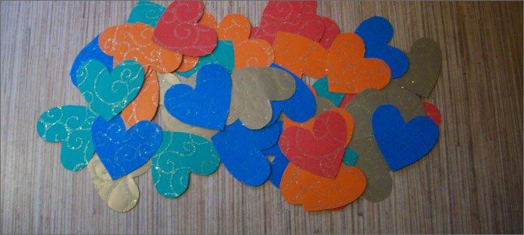 валентинки-из-цветного-картона