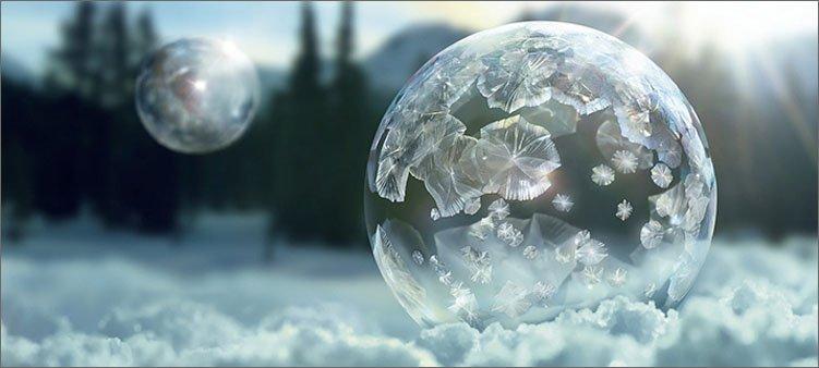 мыльный-пузырь-на-морозе